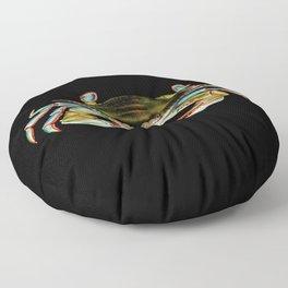 Blue Crab Floor Pillow