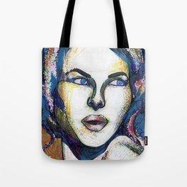 Pop Art Woman Tote Bag