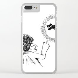 Inktober 2018: Day 4 Clear iPhone Case