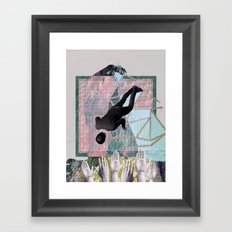 Someone Will Catch You Framed Art Print