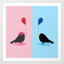 Finding Your Other Half Art Print