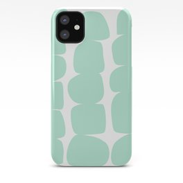 Aqua Stones iPhone Case