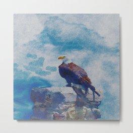EAGLE'S LOFT Metal Print