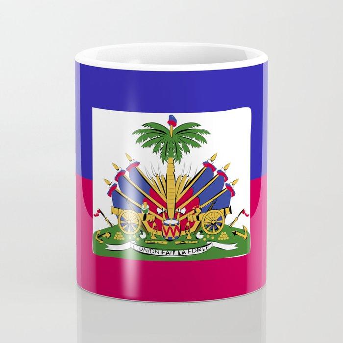 Haiti flag emblem Coffee Mug