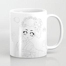 Wagashi line Coffee Mug