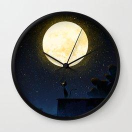 Big Moon Wall Clock