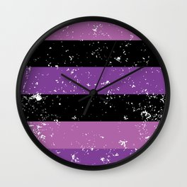 purple-22 Wall Clock