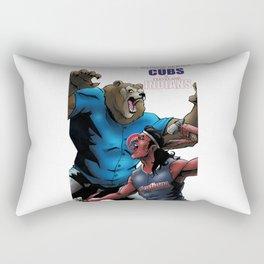 WORLD SERIES: CUBS at INDIANS Rectangular Pillow