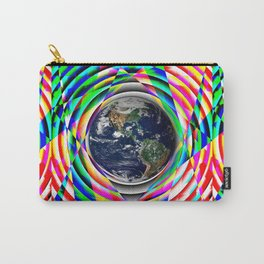 Earth Vibes Carry-All Pouch
