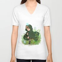 hetalia V-neck T-shirts featuring Albion by kitkatkatee