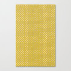 Yellow spots Canvas Print