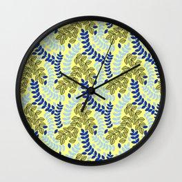 Leafy Wall Clock
