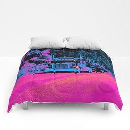 Big Rig Highway Hauler Comforters