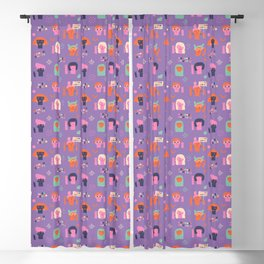 Girl power Blackout Curtain