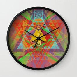 hearts & more - triangle head 102 Wall Clock