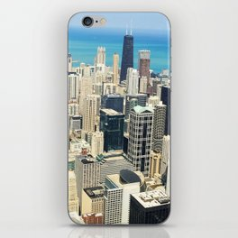 Chicago Buildings Color Photo iPhone Skin
