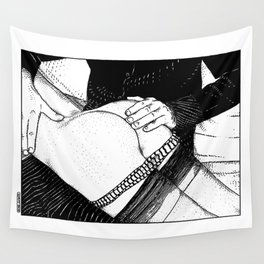 asc 488 - Les mains chaudes (Until his hands burn) Wall Tapestry