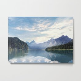 Wanderlust - Mountains, Lake, Forest Metal Print