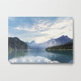 Wanderlust - Mountains, Lake, Forest Metal Print