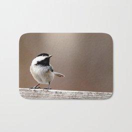 Chickadee #1 Bath Mat