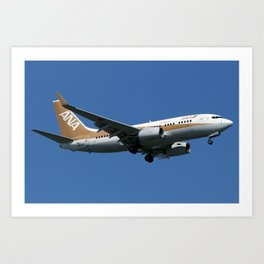 All Nippon Airways - ANA (Air Nippon - ANK) Art Print