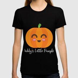 Daddy's Little Pumpkin Cute Halloween Autumn Seasonal product T-shirt