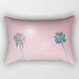 Pastelle Palms #summer vibes Rectangular Pillow