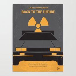 No183 My Back to the Future 1 mmp Poster