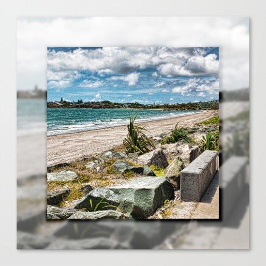 Beautiful Bay View Canvas Print