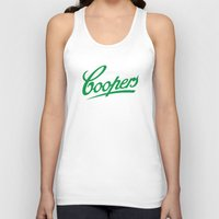 ale giorgini Tank Tops featuring Coopers Ale by Jason Vaughan