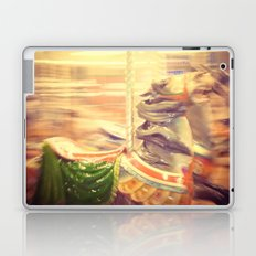 Merry-go-round from our youth Laptop & iPad Skin