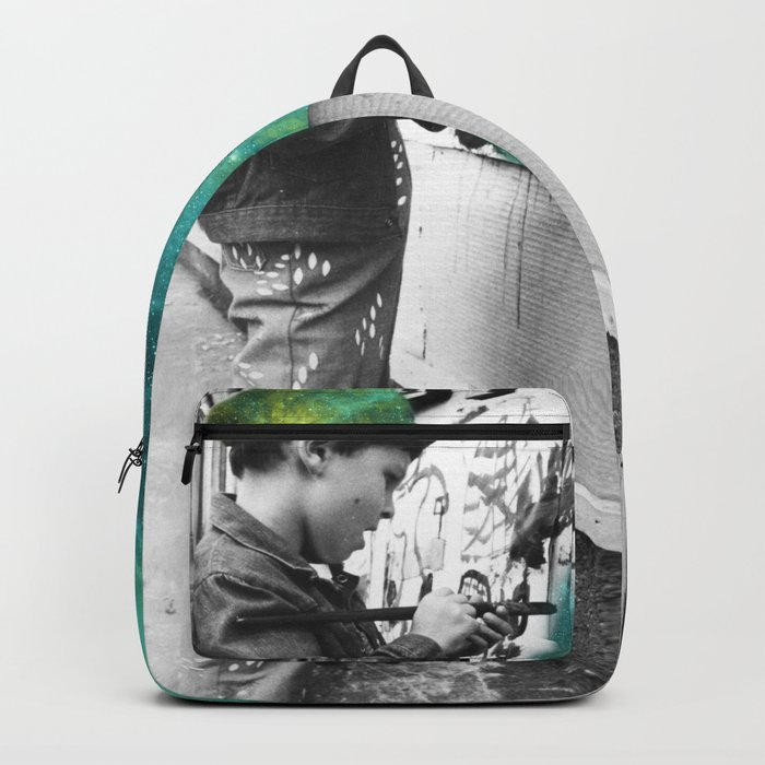 KID PAINTING THE UNIVERSE Backpack