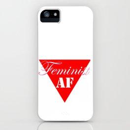 Feminist AF iPhone Case