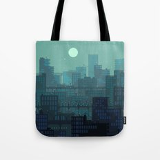Midnight Blues Tote Bag