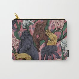 Utopia for Monkeys Carry-All Pouch