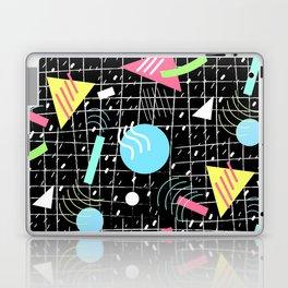 Memphis Style Vibes (Dark) Laptop & iPad Skin