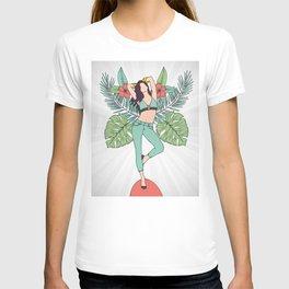 Monstera Girl T-shirt
