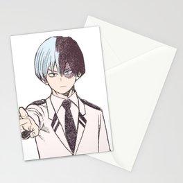 Shoto Todoroki Colorization Stationery Cards