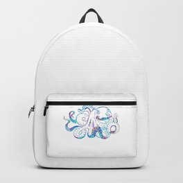 Psychedelic Octopus Trippy Giant Kraken Sea Monster Surreal Backpack