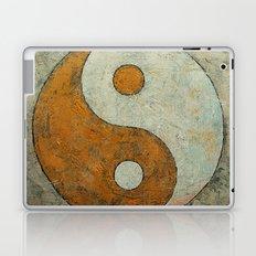 Gold Yin Yang Laptop & iPad Skin