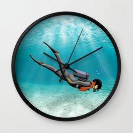 S.C.U.B.A. Diver Wall Clock