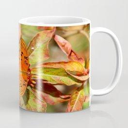 Butterfly In The Glades - Gulf Fritillary Coffee Mug