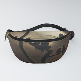 Vivid Retro - Ghosts in a Tree Fanny Pack