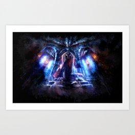 Castlevania: Vampire Variations- Dracula Art Print