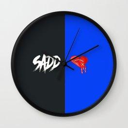 Sadd(Blue) Wall Clock