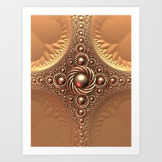A Touch of Gold Art Print