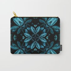 TEAL LEAVES MANDALA Carry-All Pouch