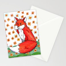 Phone or Fox Stationery Cards