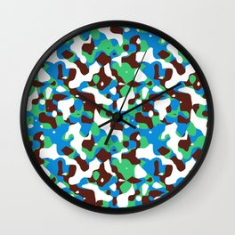 HOT CAMOUFLAGE Wall Clock