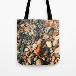 Ocean Pebbles Tote Bag